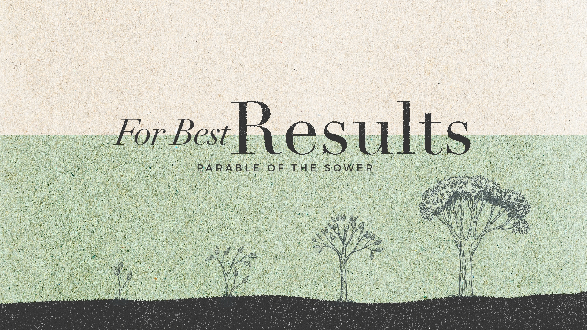 Brooklyn Tabernacle For best results (parable of the sower) thumbnail